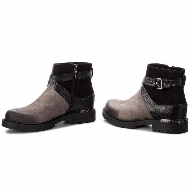 Boti R Polanski 0953 Grafit Czarny Mens Boots Fashion Leather Shoes Men Casual Shoes Women