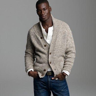 J Crew sweater & jeans #men's #fashion