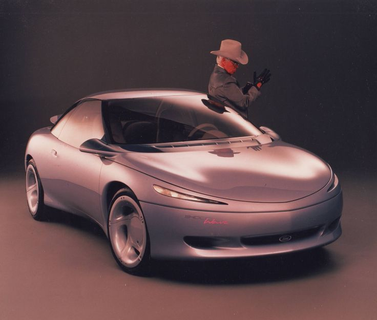 1990 Ford ShocccWave concept front right & 450 best Ford Concept Cars images on Pinterest | Ford Automotive ... markmcfarlin.com