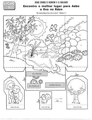 Fiches d'activités bibliques sur la Genèse - Levangelisation (section Enfants)