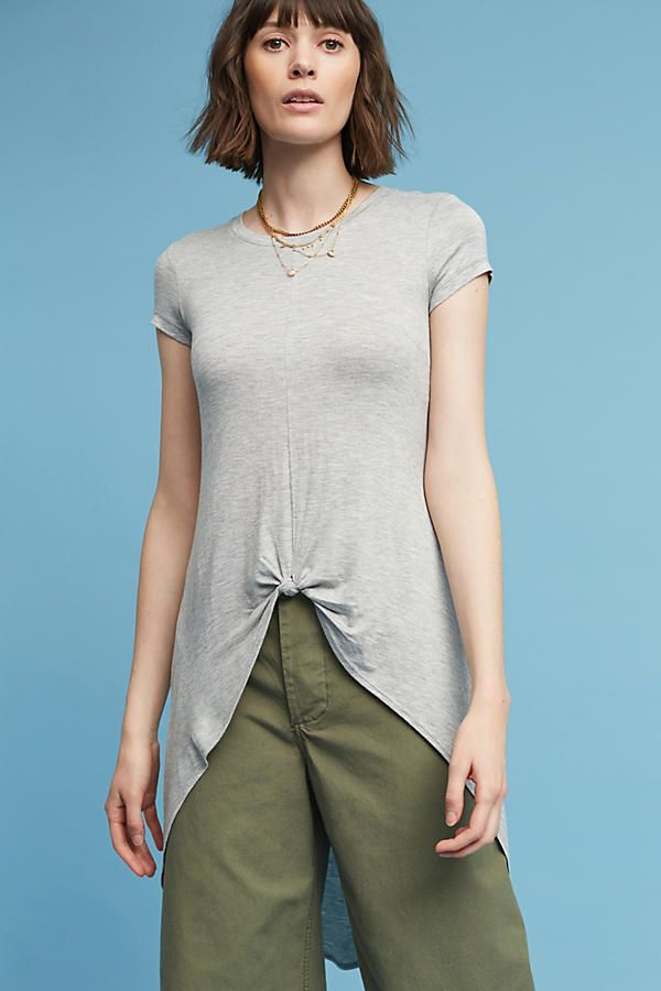 Slide View: 2: Kenzie Knotted Tunic