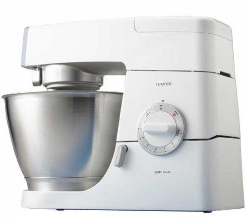 Kenwood KM336 Chef Classic Robot ménager blanc 800 W Ustensiles de - bosch küchenmaschine profi 67