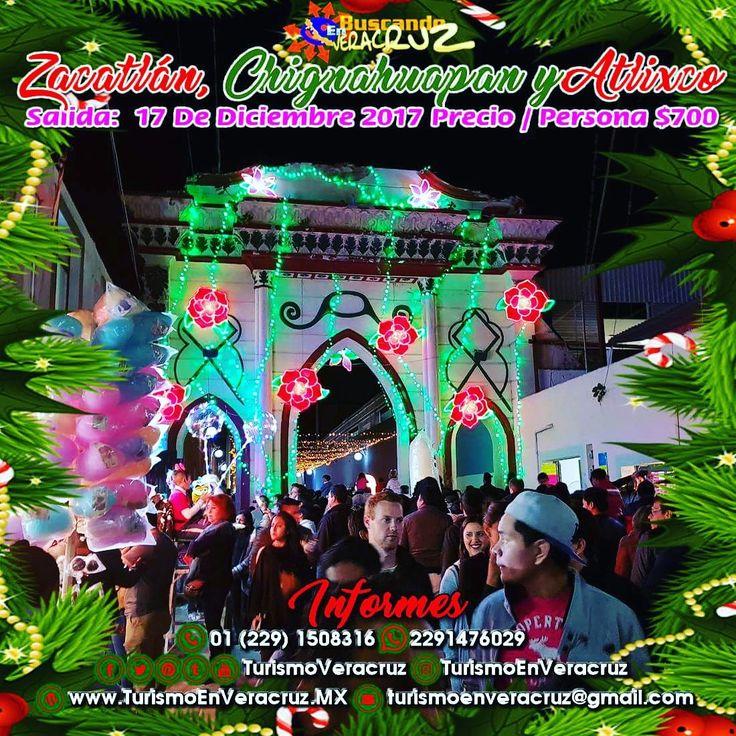 Este 17 de diciembre toma tu mochila y acompáñanos a #Zacatlán #Chignahuapan y #Atlixco saliendo de #Veracruz #Cardel y #Xalapa costo por persona $700  ¡ Reserva Tu Lugar YA ! Tels: 01 (229) 150 83 16 WhatsApp: 2291476029 Email: turismoenveracruz@gmail.com http://www.turismoenveracruz.mx/2017/11/excursion-a-atlixco-chignahuapan-y-zacatlan-de-veracruz-cardel-y-xalapa/