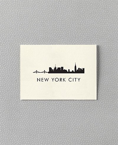 New York City Skyline cards from Hello! Lucky