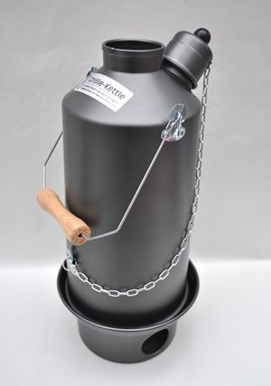 A hard anodized aluminium kettle, highly durable, scratch resistant and quick to boil - this is a perfect #kettle for hikers, camping trips or people who like going on big trips in the outdoors. Made in the UK http://www.madecloser.co.uk/sports-leisure/camping/the-adventurer-hard-anodised