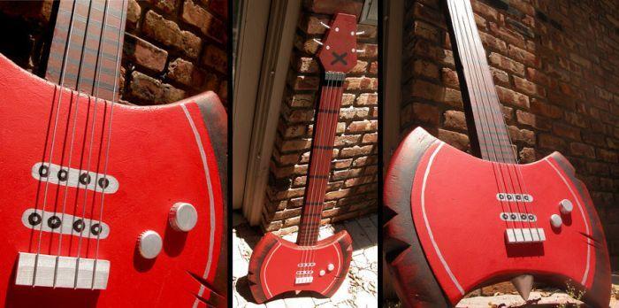Marceline's Bass Guitar by margo98