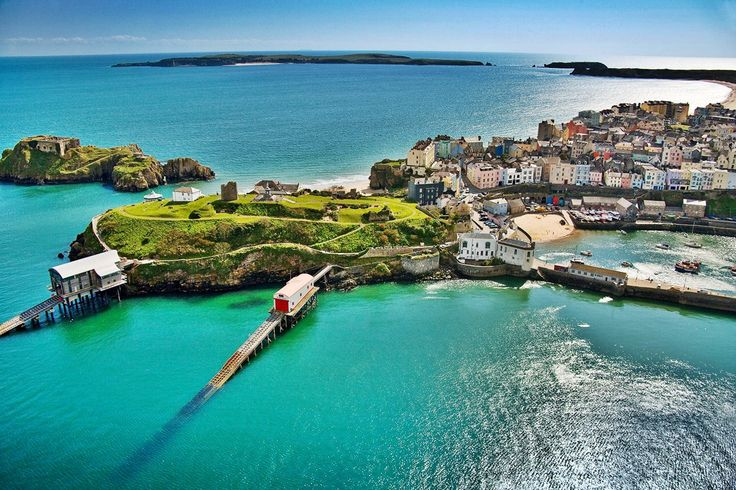 Tenby, Wales ... Weekend trip!