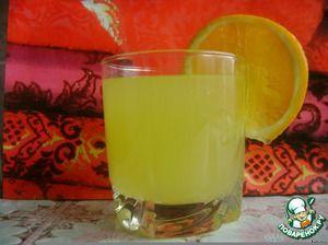 Апельсиновый напиток (4 апельсина = 9 литров)