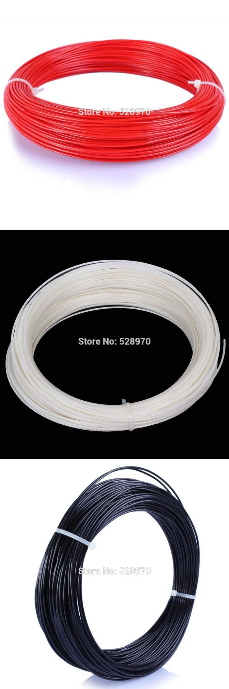 [Visit to Buy] With Tracking Number 50M 3d printer filament PLA/ABS 1.75mm Pen RepRap plastic Rubber Consumables Material makerbot/3D print pen #Advertisement