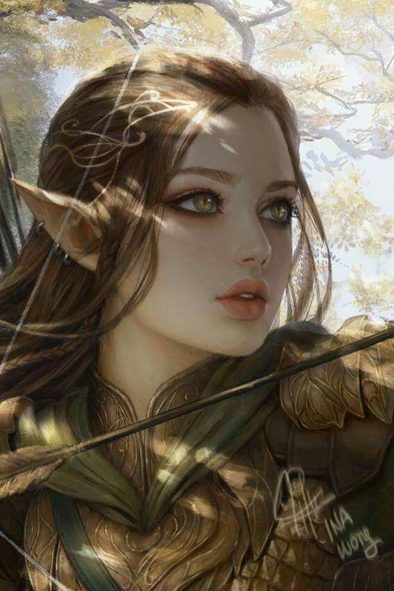 Fantasy Elf Art Pictures