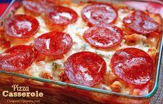 Easy & Cheap Pizza Casserole Recipe