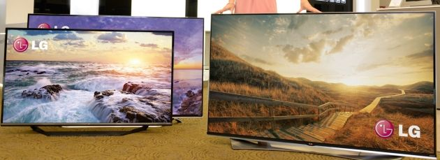 Ending a long period of speculation, LG revealed that it will have new TVs of the extra-large, super duper high-res variety to show off during CES 2015.   #CES2015 #TV #LG #4K