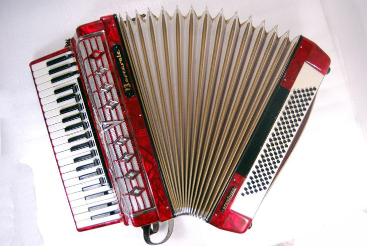 Accordion Barcarole Prominenz Piano Accordion 120 Bass Button German Acordeon Vintage Musical Instrument Accordeon Accordian Weltmeister