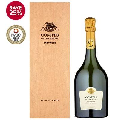 Taittinger Comtes de Champagne Blanc de Blancs Brut - for VERY special occasions