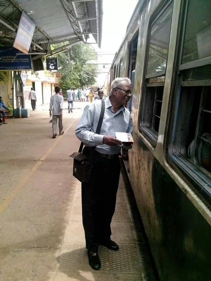 train witnessing in India