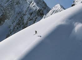 to ski kicking horse