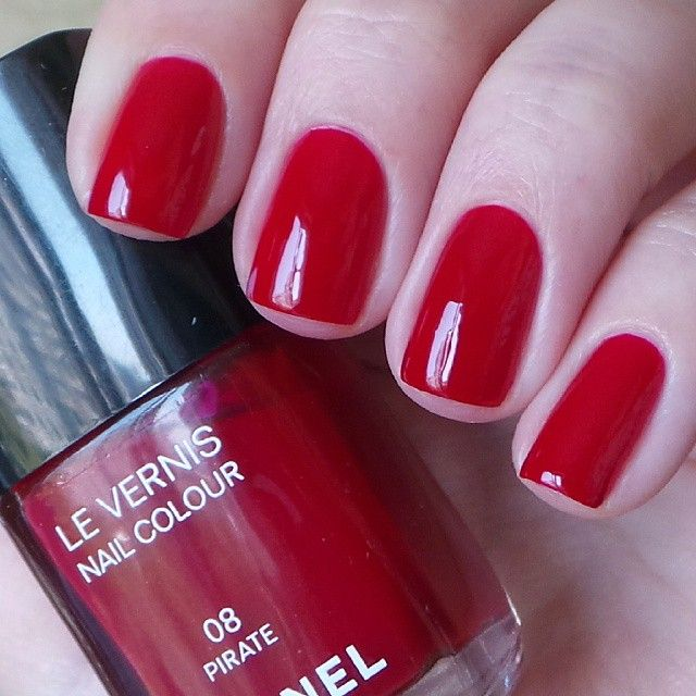 Chanel Pirate 08. Two coats.