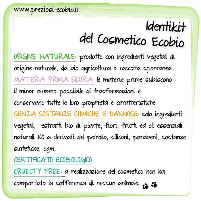 Come deve essere un cosmetico Eco Bio?
