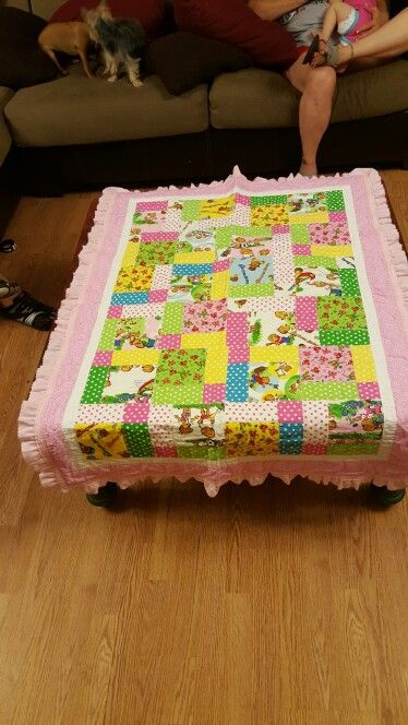 Berstein bear quilt I made. This is the front.