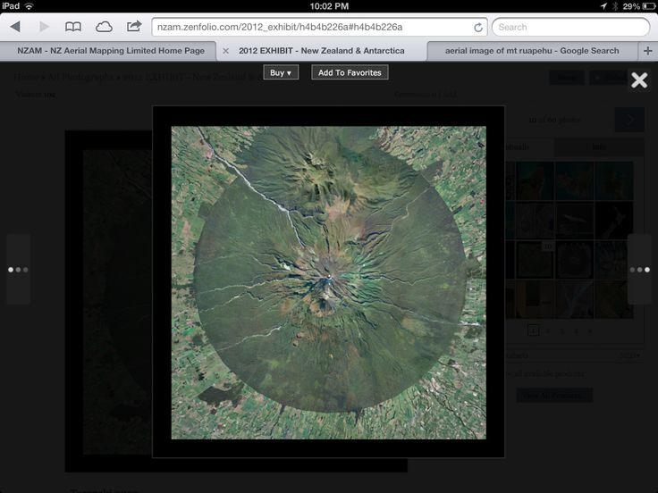 Mt taranaki aerial mapping nz