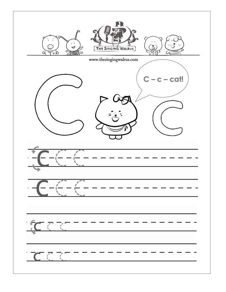 Best Letter C PreSchool Crafts Images On   Alphabet