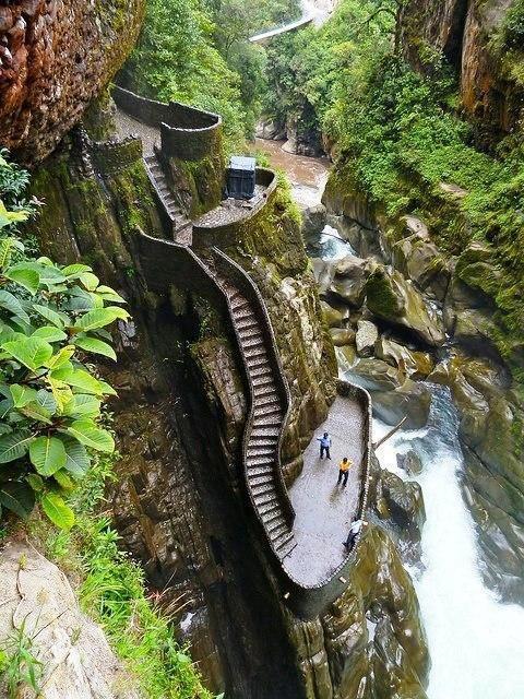 Cerca de AMBATO -ECUADOR existen lugares hermosos