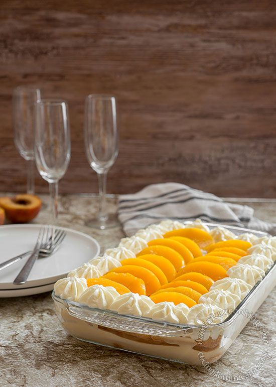 Dulce Frío (Dominican Trifle) - Every bit as good as Tres Leches, only easier.