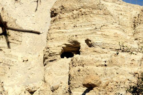 Una de las Cuevas de Ein Guedi, Israel.