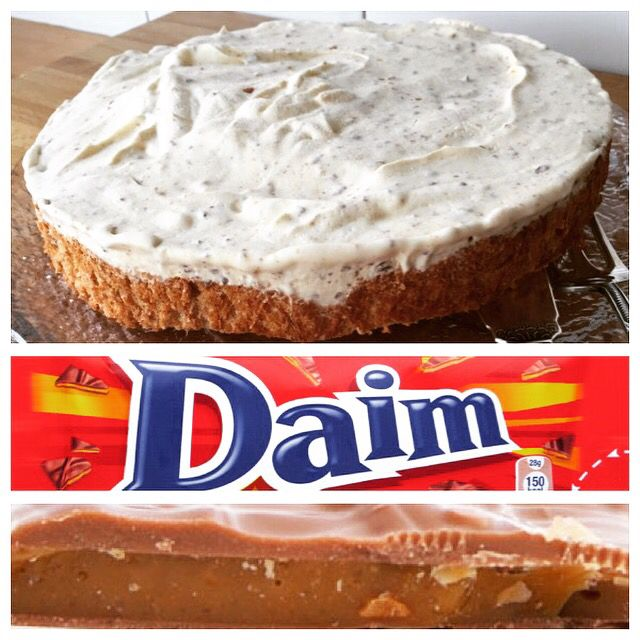 Gluten Free Daim Cake Recipe