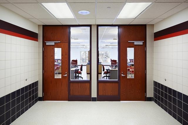 Moon Area High School Classrooms by Nello Construction Company, via Flickr