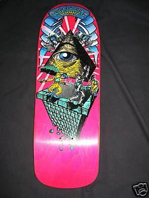 Schmitt Stix Andy Howell Old Skateboard Design