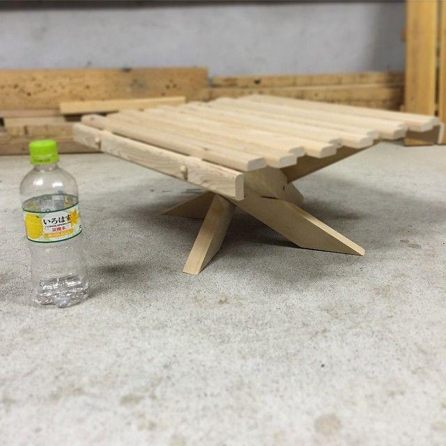 キャンプ テーブル 自作 ローテーブル on Instagram 皆さんのキャンプpicを眺めながら こんばんは。 今回もクライアントさんより ご依頼