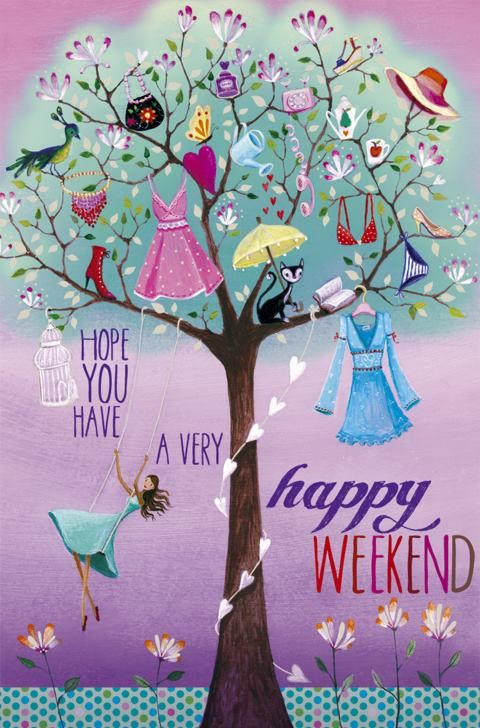 I do hope you have a very happy weekend! <3