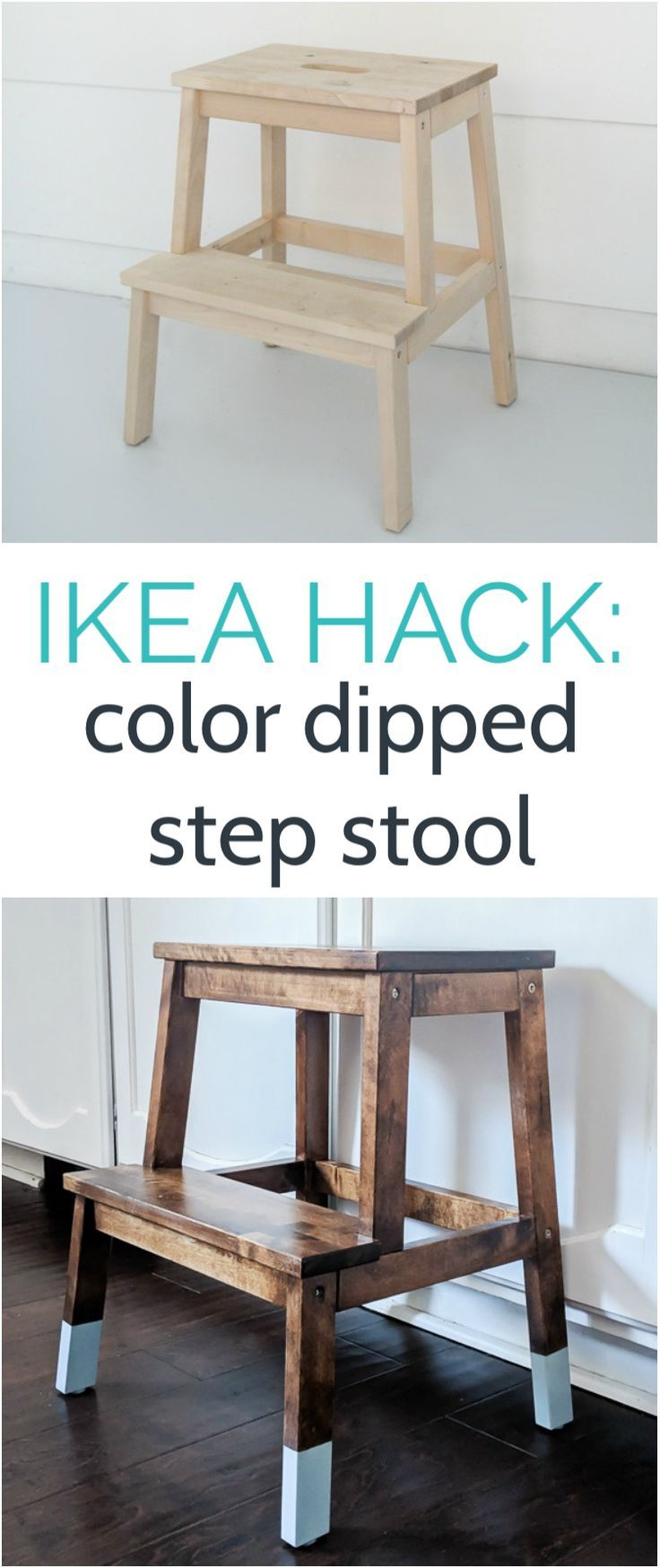 Stupendous Making An Ikea Step Stool Pretty Diy From Lovely Etc Gmtry Best Dining Table And Chair Ideas Images Gmtryco