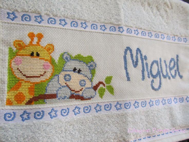 Punto Cruz - Jirafa (Miguel) | Baby Punto de cruz | Pinterest ...