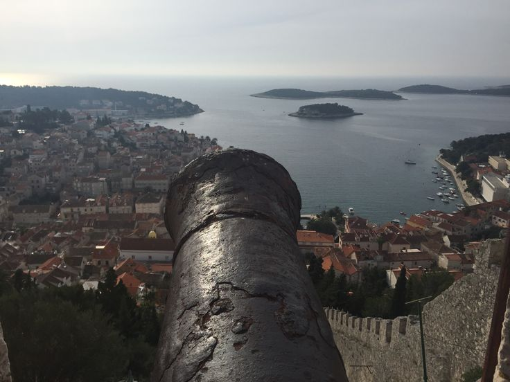Looking out from the fortress over Hvar town on the island of Hvar in Croatia a few days ago. A perfect spot for a cultural holiday.