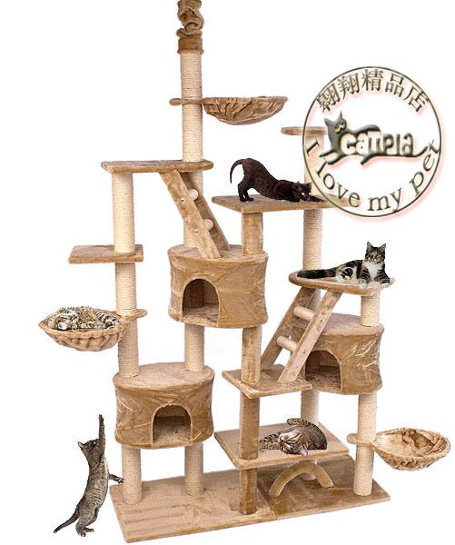 meiqi cat climbing frame luxury large size c100 cat climbing frame cat tree cat scratch