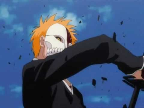 Bleach AMV Ichigo vs Grimmjow - Hoobastank - Out Of Control