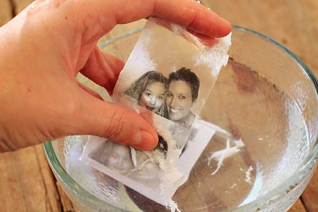 Packing Tape Image Transfer Tutorial - All you need is a photo copy of an image or pic from a magazine and packing tape.