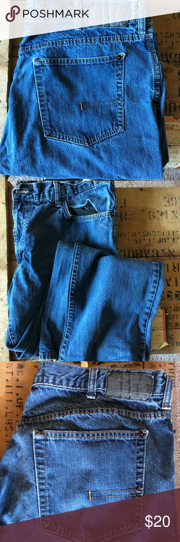 Men's Calvin Klein straight cut jeans w38 Signs of some wear but have lots of life yet. Straight cut. Comment with questions Calvin Klein Jeans Straight