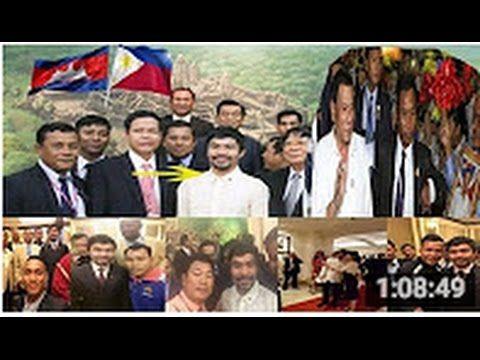 Latest News of Mr  President Rodrigo Duterte and Manny Pacquiao to Cambo...