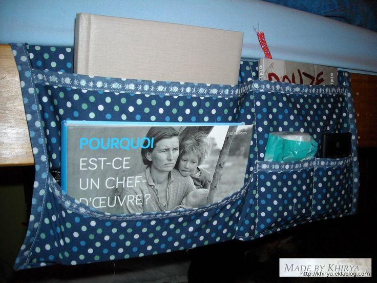 Un organisateur pour le lit - Made By Khirya