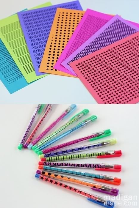 Paper Gel Pens | 37 Awesome DIYs To Make Before School Starts
