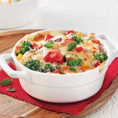 Cassolette gratinée aux légumes - Recettes - Cuisine et nutrition - Pratico Pratique