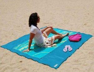 Telo da mare che non trattiene la sabbia  #LIMONI #SUMMERBAG