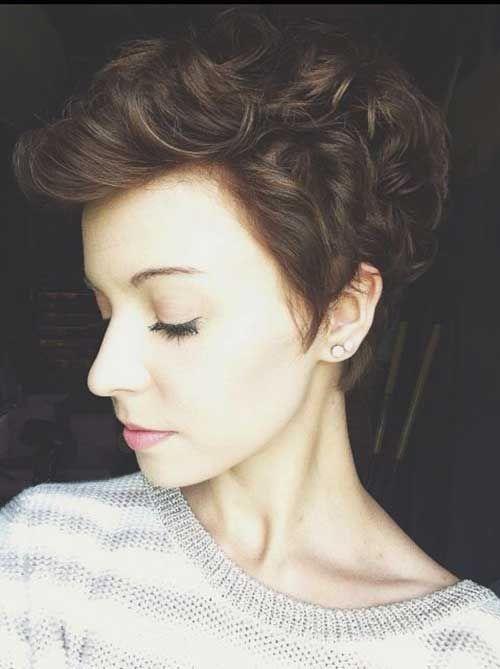 pixie cut curly hair ideas