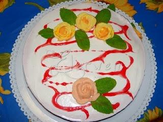 Ricette Annotate: Torta Fredda allo Yogurt per il mio Compleanno
