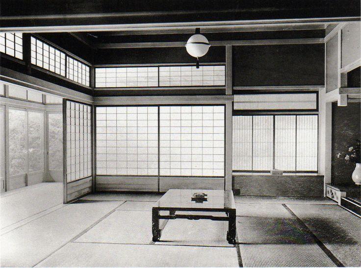 Sutemi Horiguchi, screens, light, windows