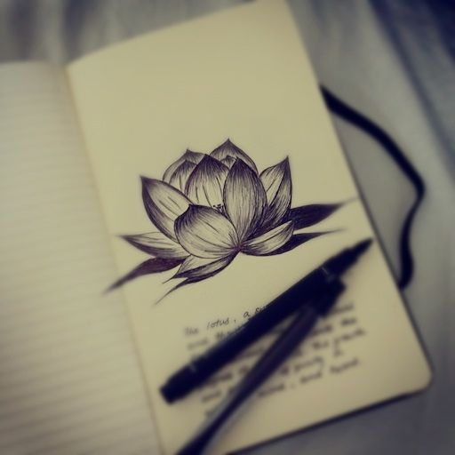 The lotus, a symbol of life and the lifelong journey in search for spiritual…