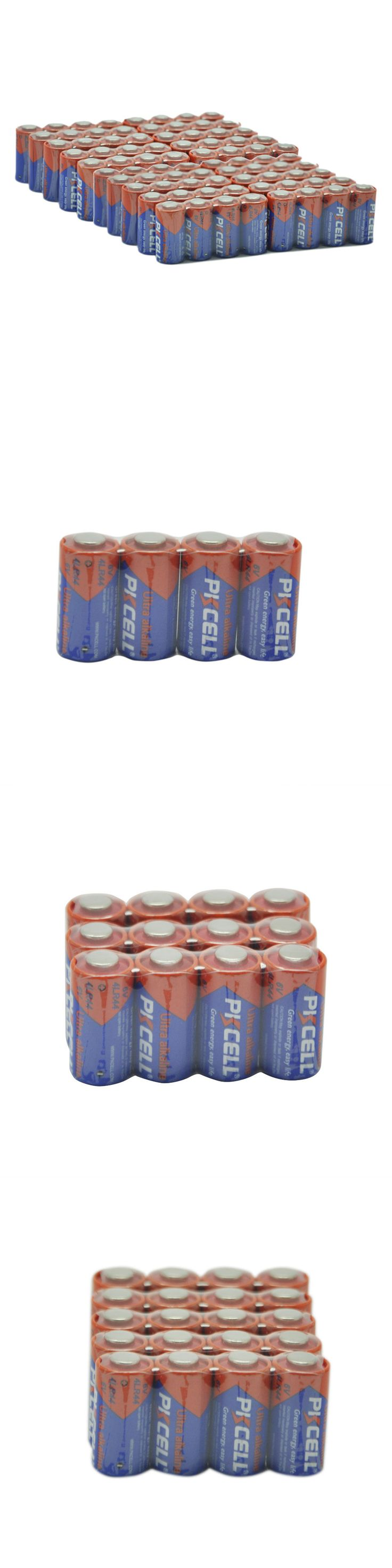 Batteries and Power Accessories: 100 Pack 6V Alkaline Batteries 4Lr44 28A Px28a 4G13 Dog Collars Battery Pkcell -> BUY IT NOW ONLY: $38.99 on eBay!